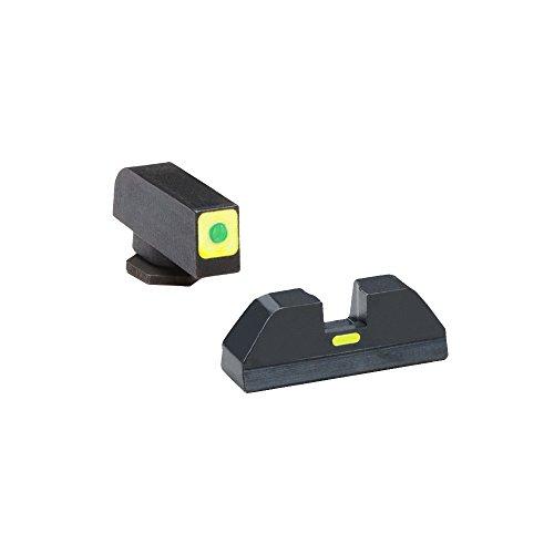AmeriGlo Cap Combative Application Front/Rear Fits Glock 42 & 43 Sight, Green