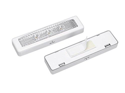 2x LED-lamp wit lamp meubellamp onderbouwlamp kastverlichting onderbouw licht onderbouw