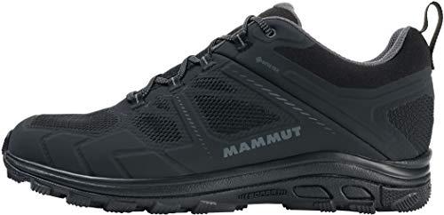 Mammut Herren Zapatilla OSURA Low GTX Sneaker, Black/Titanium, 43 1/3 EU