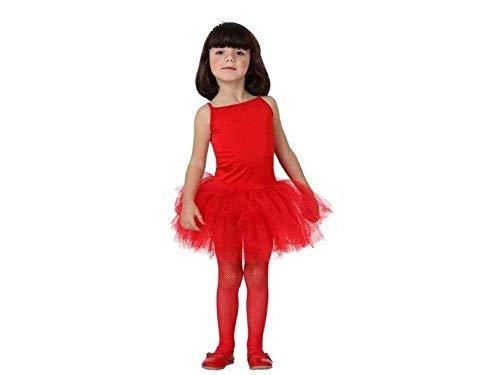 Atosa 17002 Disfraz de bailarina para niña, Talla 5-6 años