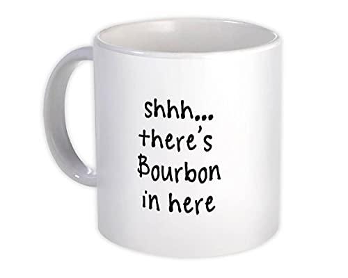 Shhh, aquí hay Bourbon : Regalo Jarra : Citar Drink Bar Gracioso Irreverente