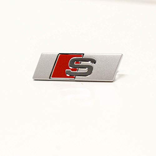 Original Audi Lenkrad S Plakette Interieur Sportlenkrad Clip Multifunktionslenkrad Emblem