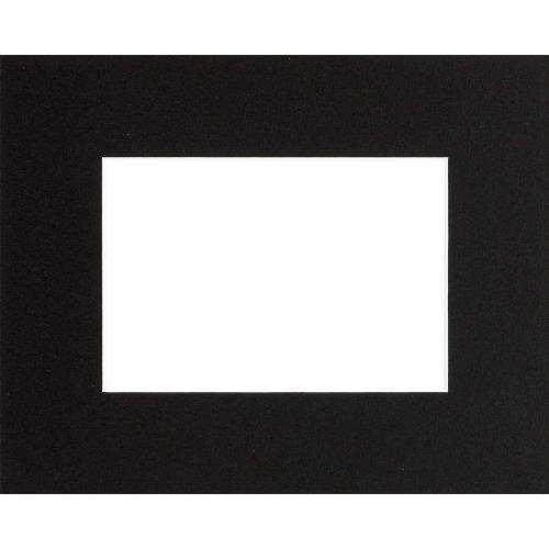 Passepartout 30X40 Offnung Schwarz 20X30 cm/A4