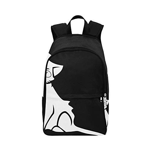 Cat Favorite Cat's Eyes Domestic Cat Kitten Pets Casual Daypack Travel Bag College School Backpack for Mens and Women