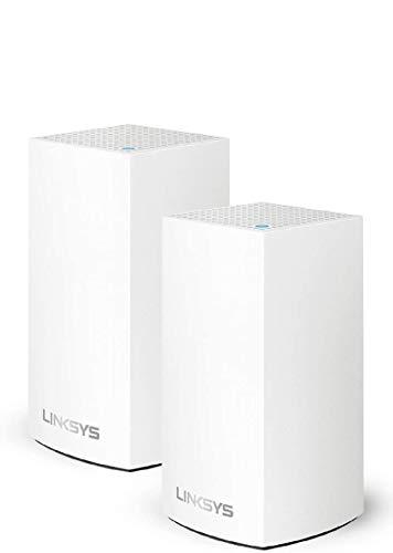 Linksys Wi-Fi 5 ルーター 無線LAN メッシュ対応 デュアルバンド AC1300 (867 + 400 Mbps) WHW0101 × 2台セット WHW0102-JP-A