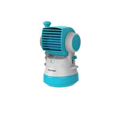 SaveStore New USB Air Conditioner Fan Spray Humidifier with Hand Pressure and Air Jet Mini Fan Ventilador Portable Use for Home Office