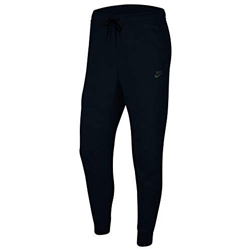 Nike M NSW TCH FLC JGGR, Pantaloni Sportivi Uomo, black/(black), L
