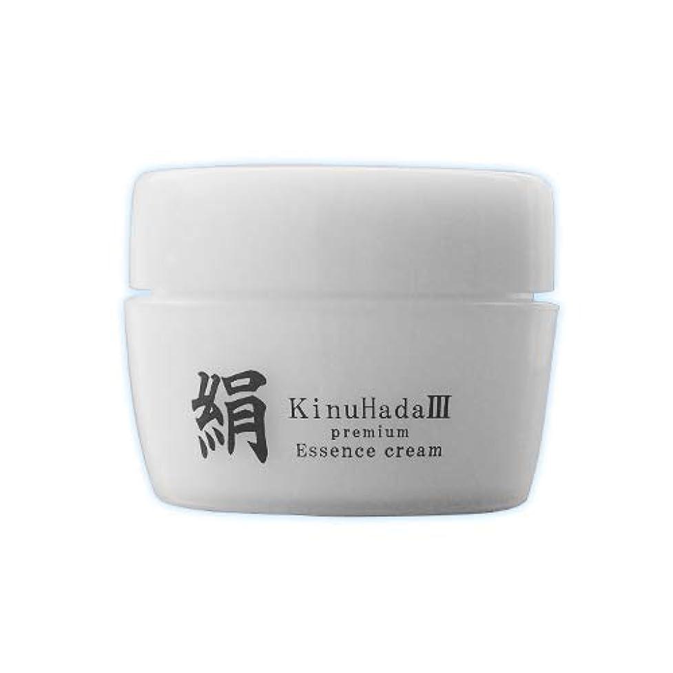 示す本物悪のKinuHada 3 premium 60g オールインワン 美容液 絹