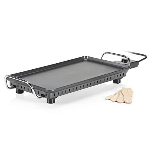 Princess Table Grill Superior - Parrilla Eléctrica, 2500 W, Color Negro