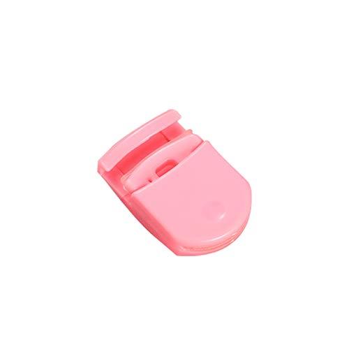 Huir Mini recourbe-cils portable en plastique pour femme Noir