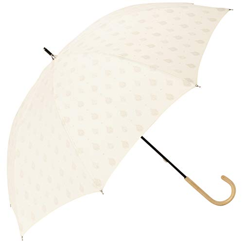 フランフラン テンポ 日傘 ホワイト(晴雨兼用)