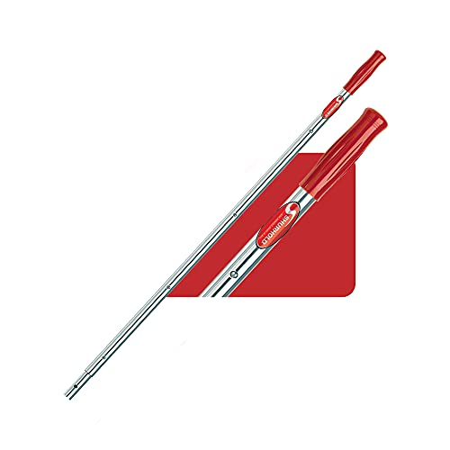 Shurhold 833 6' Telescoping Extension Handle with 40'-72' Locking Length , Silver