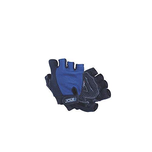 ATIPICK gth10044az Gants haltérophilie, Homme, Bleu, Taille Unique