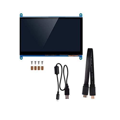 Fltaheroo 7 Zoll Voll Bild LCD IPS Druck Bildschirm 1024X600 HD Anzeigemonitor FüR Raspberry Pi