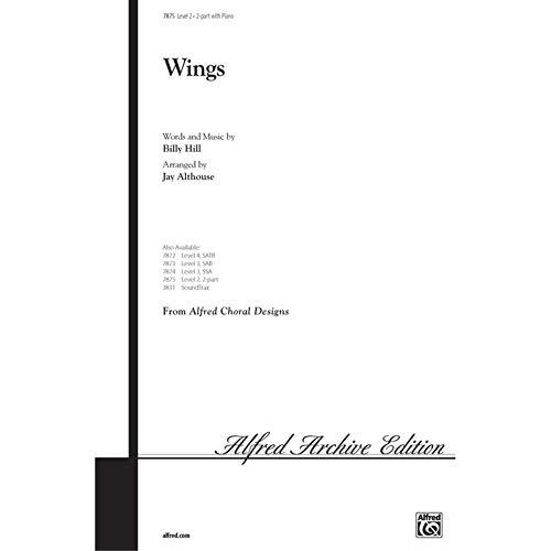 Alfred 00-7875 Wings - M-sica Libro