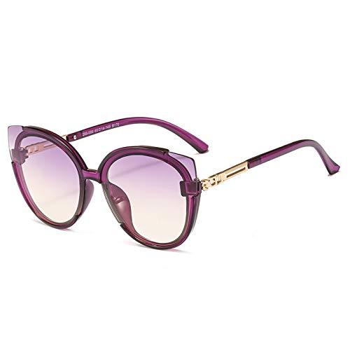 OGOBVCK occhio felino stile occhiali da sole donne classico vintage gli occhiali per guidare/holiday/viaggi (Purple)