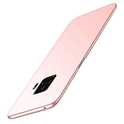 Samsung Galaxy S9 Hülle,Ultra Dünn PC Handy Schutzhülle Schale Stoßfest Galaxy S9 Handyhülle Schutz Tasche Schale Schutzhülle für Samsung Galaxy S9/S9 (Samsung Galaxy S9, Rose Gold)