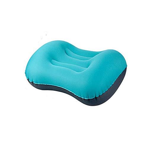 TRD-Latex Pillow Aufblasbares Reise- / Campingkissen - komprimierbar Compact Comfort Ergonomisch für Nacken- und Lendenwirbelstütze