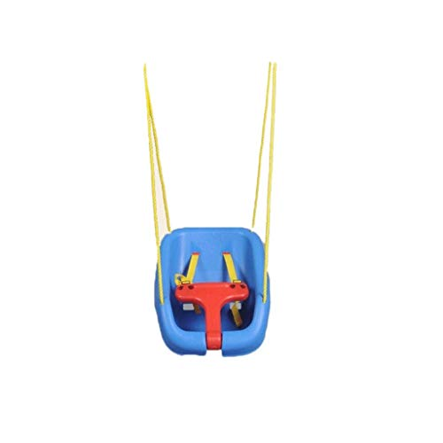 Beautiful happy Columpios de acero grandes columpios al aire libre silla colgante interior bebé asiento de niño deporte juguete de entrenamiento columpios de interacción familiar (color: asiento)