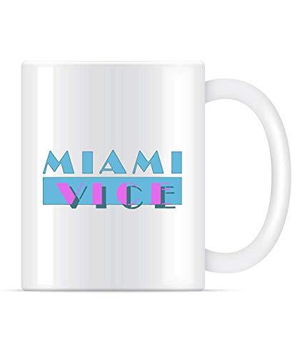 Miami Vice Classic Miami Vice Crockett Tubbs Coffee Mug For Women and Men Tea Cups