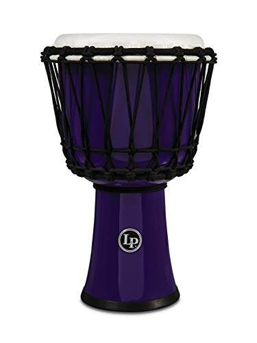 """LP エルピー/ラテンパーカッション LP1607PL [Rope Tuned Circle Djembe 7"""" with Perfect-Pitch Head] (Purple)"""