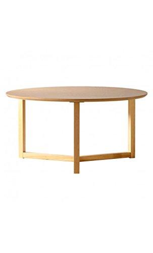 CAMINO A CASA - Table Basse Ronde Bois Clair 90 cm Three