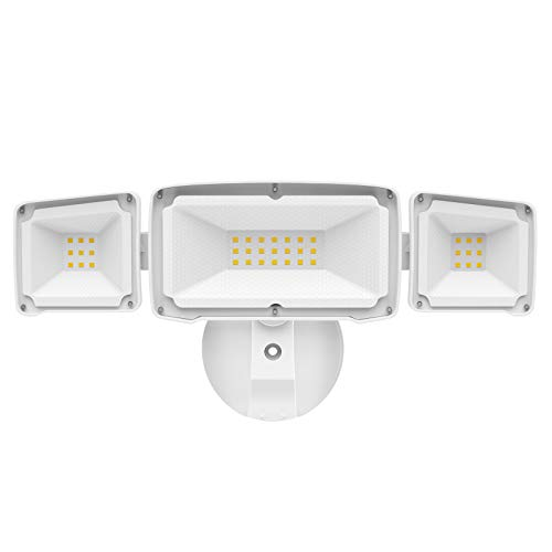 Amico 3500LM LED Security Light, 30W Super Bright Outdoor Flood Light, ETL- Certified, 5000K, IP65...
