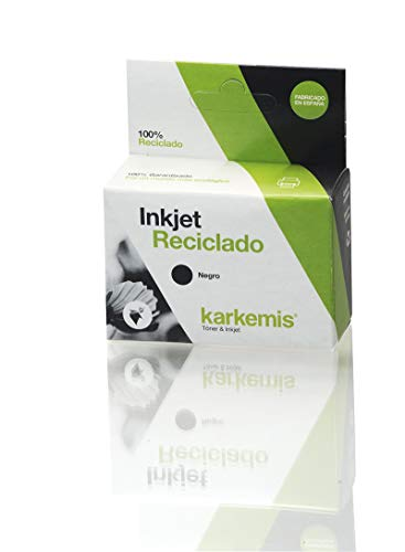 Cartucho de tinta Karkemis reciclado   HP Ink-Jet CC641EE (300XL) Negro 18ml