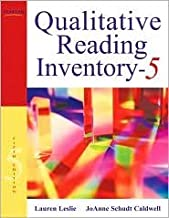 Qualitative Reading Inventory 5th (fifth) edition