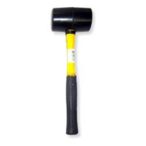 16 oz Rubber Mallet with Fiberglass Handle