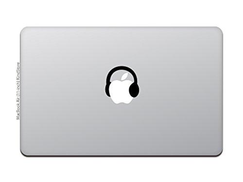 カインドストアMacBookAir/ProマックブックステッカーシールテレビCMミュージックヘッドフォンヘッドホンHeadphoneM557