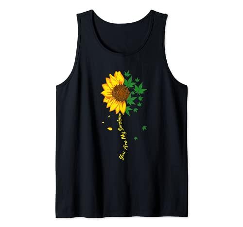 Sunflower Marihuana Cannabis Stoner Weed...