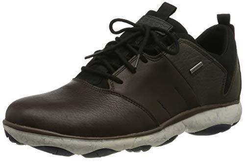 Geox Herren U Nebula 4 X 4 B ABX A Sneaker, Braun (Coffee/Mud C6ml6), 43 EU