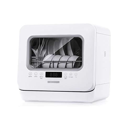 Un Lavavajillas De Sobremesa Compacto, Un Lavavajillas De Sobremesa con Un Diseño De Rociador Giratorio De 360 ° Y Cinco Modos De Lavado, para Hogares Y Oficinas