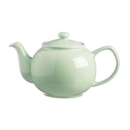 Preis & Kensington, Sandstein-Teekanne, KERAMIK, Kapazität 2 Tassen (450 ml), Grün (Minze)