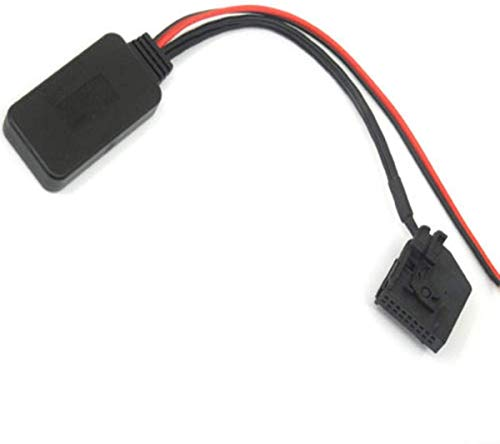 ZW18U PC 1 Perfectly Car Audio Stereofony Bluetooth Receptor Adapter Cable Aux Cable para Mercedes Comand 2.0 APS 220 W211 W208 W168 W203 Mecánico Piezas de Repuesto