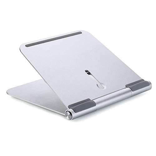 Práctico y conveniente soporte del ordenador portátil portátil portátil de aluminio del soporte, de escritorio del cojín de escritorio de alta elevación base de calentamiento, enfriamiento rápido 3 ni