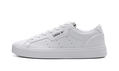 adidas Originals Damen Sneaker Sleek Vegan Weiss (10) 402/3
