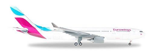 herpa 557399 - Eurowings Airbus A330-200, Fahrzeug