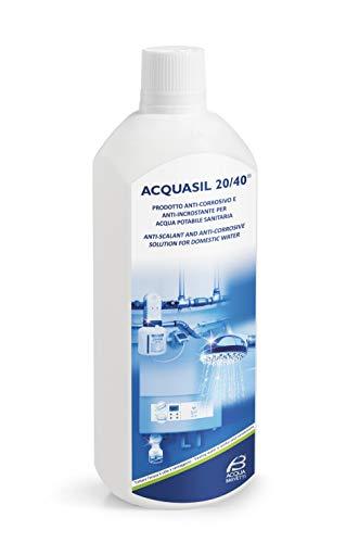 Filtro dell acqua Man WFMMDAS ACQUASIL 20 40 Polyfosfato Liquid Descill Descall Bottiglia per minidos e Bravados