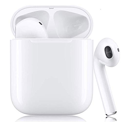 Bluetooth-Headset, kabelloses Headset, In-Ear-, Sport-Headset, IPX7 wasserdicht, 3D-Stereo-Rauschunterdrückung, geeignet für Android/iPhone/Apple AirPods Pro/AirPods/AirPod/AirPods 2