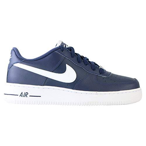 Nike AIR Force 1 AN20 (GS) Basketballschuh, Midnight Navy White, 38 EU