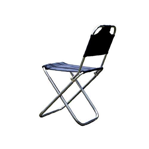 GGOOD Silla Plegable Silla Que Acampa De La Aleación De Aluminio Portable...