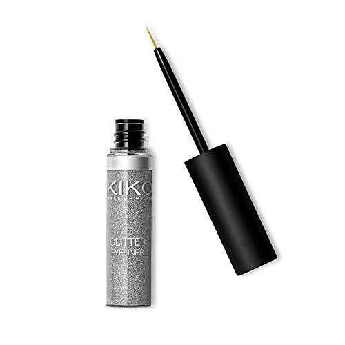KIKO Milano Glitter Eyeliner 02, zilver.