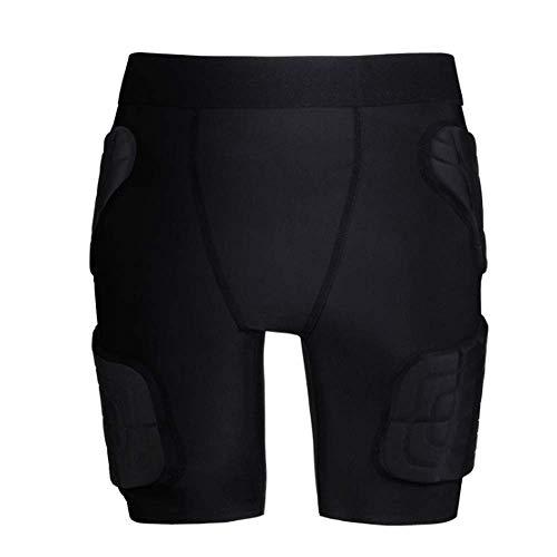 RED SHORE Body Kid Safe Pro Équipement de Protection Hex rembourré Football Shirt Shorts Coulissant, Retour Poitrine Garde Pad, pour Les épaules, Les côtes et la Colonne vertébrale Protec(XL,Pants)