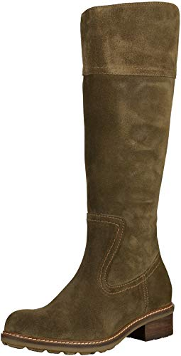 Wolky Moher 0447740 Damen Stiefel 40155 Taupe Veloursleder, EU 38