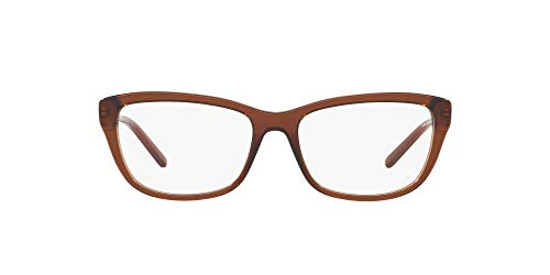 Ralph Lauren 0RL6189 Monturas de gafas, Transparente Brown, 52 para Mujer