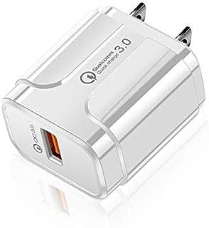 شواحن حائط الهاتف المحمول Portable QC3.0 18W USB Port Universal Quick Charging Charger, US Plug