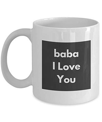 Albanien Papa Kaffeetasse - Papa Ich liebe dich auf Albanisch - Vatertagsgeschenk von Sohn oder Tochter Geburtstag Geschenk in seiner Muttersprache