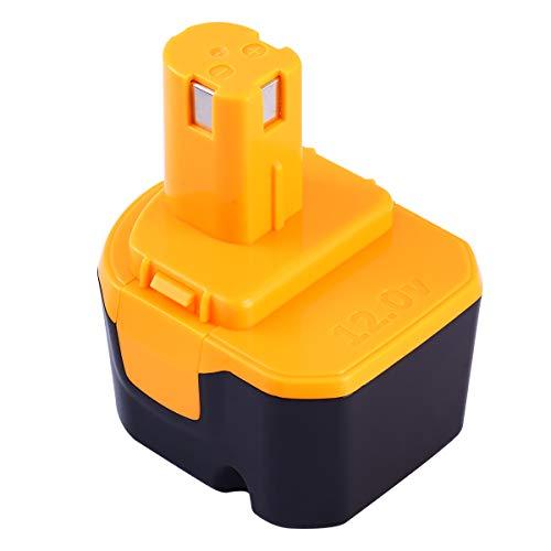 Enermall 互換 リョービ Ryobi 12v B-1203F2 B-1203M1 バッテリー互換 電池パック対応 3000mAh B-1203C B-1203M1 B-1203F3 BPL-1220 B-1220F2代替電池 互換品